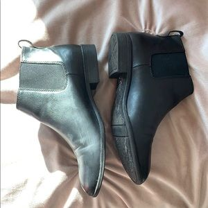Franco Sarto Shoes - Franco Sarto Black Leather Boots